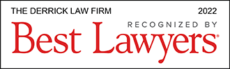 Logo Recognizing The Derrick Law Firm's affiliation with Best Lawyers